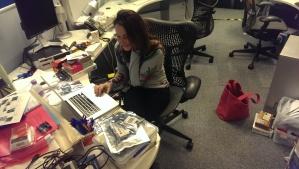 Patricia's IoT desk